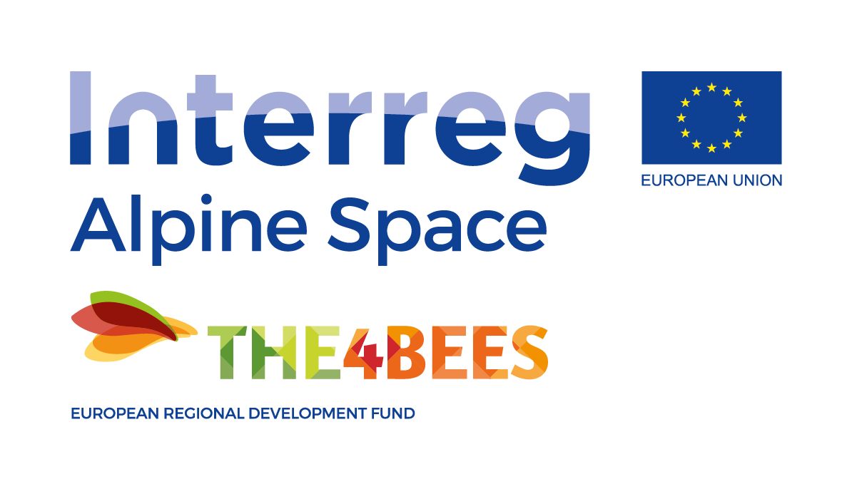 Logo_THE4BEES_V_ERDF